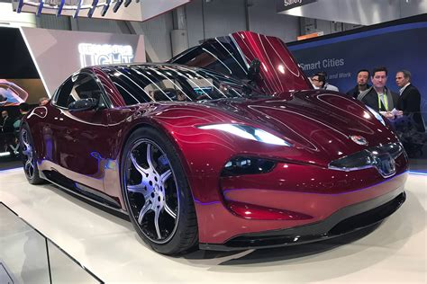 electric fisker emotion revealed  ces auto express