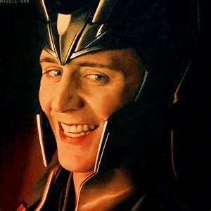 Loki's smile gif | LOKI!!!!!!!!!!!!! | Pinterest