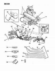 1990 Dodge Dakota Relay  Starter  Relays  Starter  Starter  W  Diode  Starter  Slash Shield