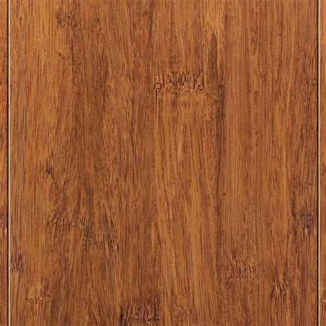 home legend bamboo flooring home legend strand woven harvest 9 16 in thick x 4 3 4 in