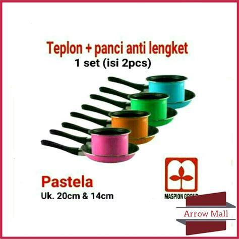 Panci Teflon Maspion set milkpan frypan pastella teflon panci set maspion