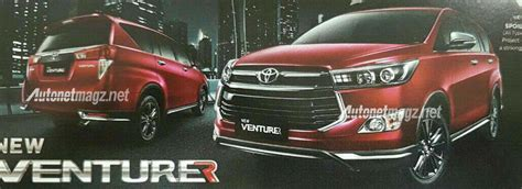 Toyota Venturer Picture by Range Topping Toyota Innova Crysta Venturer Leaked Ahead
