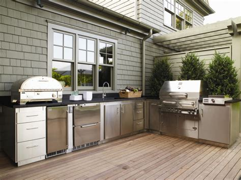 Small Outdoor Kitchen Ideas Pictures & Tips From Hgtv  Hgtv