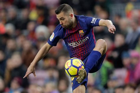 Which Barcelona Star Is Faster Jordi Alba Or Ousmane