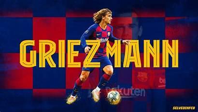 Griezmann Antoine Barcelona Fc Wallpapers Soccer Background