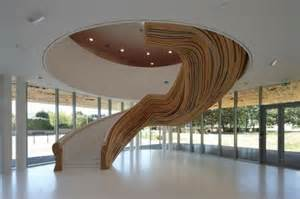 interior design country homes organic stair design makes futuristic indoor fresh