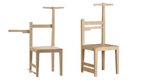 fonction d une chaise des chaises transformables pour un deux en un design
