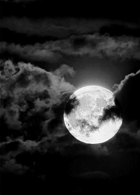 The moon just went behind the clouds..... | Posted by
