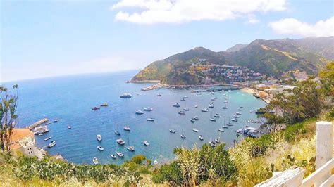 catalina island getaway weekend living ferry ride take step orange county