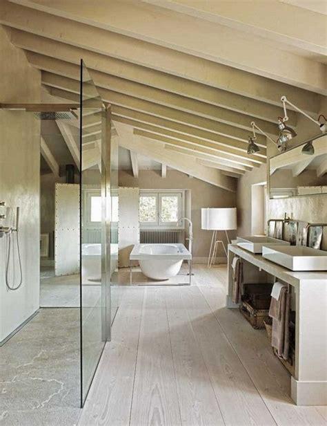 salle de bains sous les toits planete d 233 co via nat et nature relax in mansarda