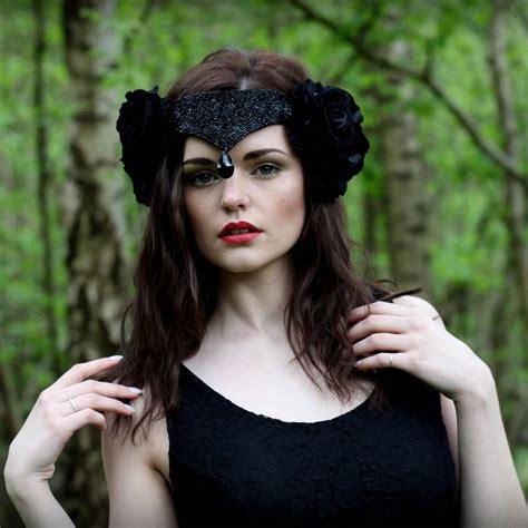black swan headpiece by rouge pony | notonthehighstreet.com