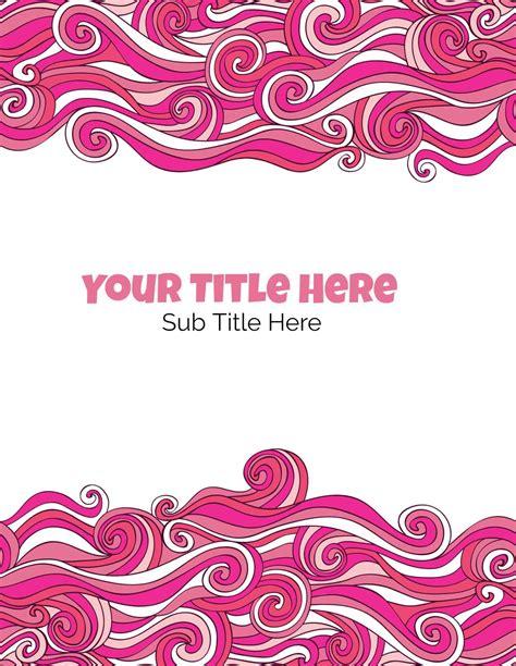 printable binder covers  editable