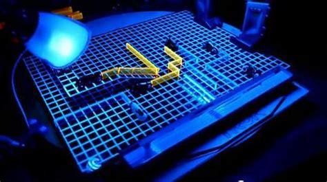 custom tron light cycle board game gadgetsin