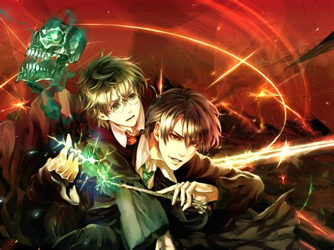 Harry Potter Anime Wallpaper - harry potter wallpaper zerochan anime image board
