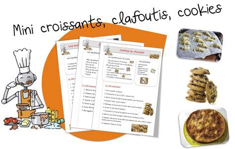 recette de cuisine sur 3 recettes de cuisine pour la classe suite bout de gomme