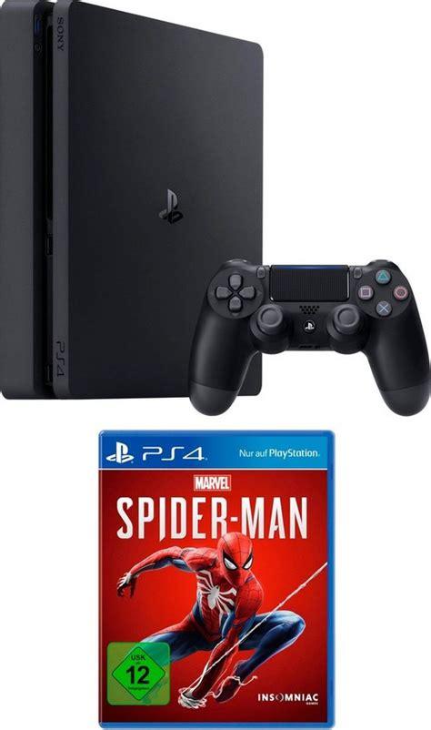 playstation  slim ps slim tb bundle inkl spider
