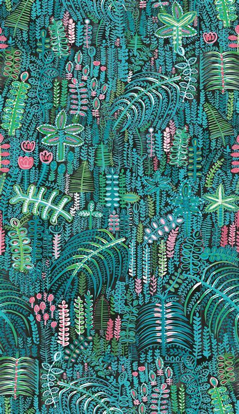 lagoon  cotton panama fabric   metre lucy