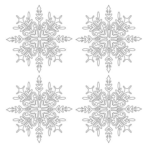 268 free vector graphics of snowflakes. Snowflake .SVG File Digital Download | Svg, Digital ...