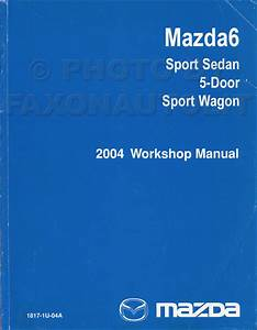 2004 Mazda6 Original Wiring Diagram Mazda 6