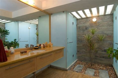 Total Class From Total Environment by Bathroom With Courtyard Home Garden Design