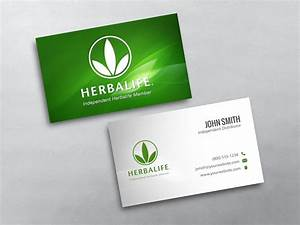 Herbalife business cards free shipping for Herbalife business card templates