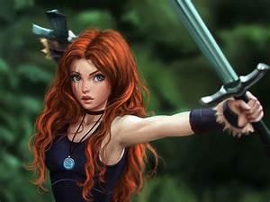 Fantasy Women Warrior Wallpaper | female dwarf/warrior ...