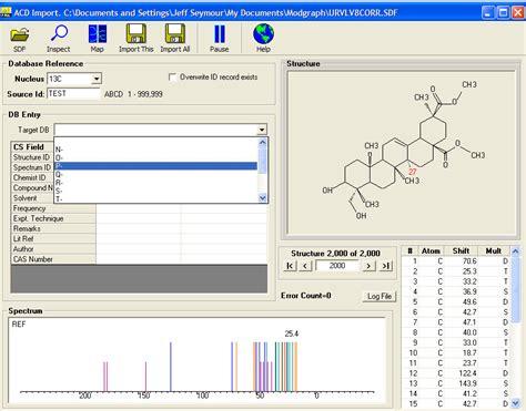 Proton Nmr Database by Nmr Prediction