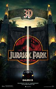 Fresh poster and trailer tease 'Juric Park 3D'  CNET
