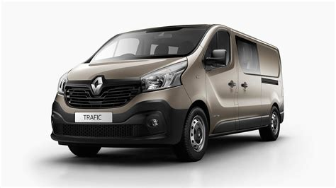 renault minivan 2017 renault trafic crew van added to local range photos