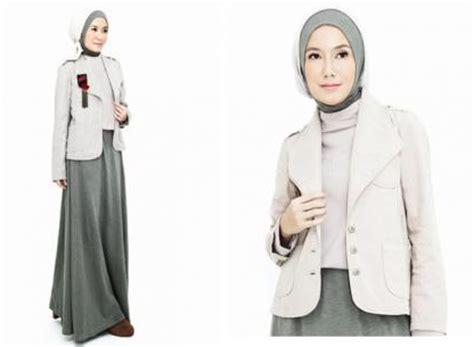 jaket formal jaket kerja aneka contoh desain baju kerja muslim terbaru 2017