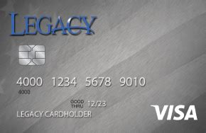 Check spelling or type a new query. Legacy Visa Credit Card Review & Best Alternatives (2021)