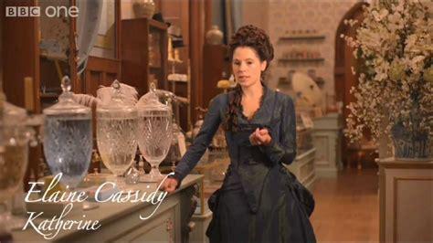 Elaine Cassidy Explains Katherine's New Life