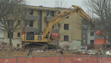 demolition  shannon park  air quality concerns