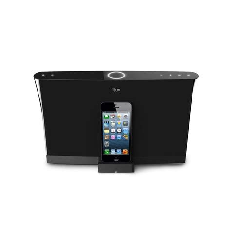 iphone 5 dock iluv high fidelity charging speaker lightning dock for