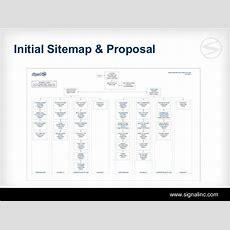 Initial Sitemap & Proposal Wwwsignalinccom
