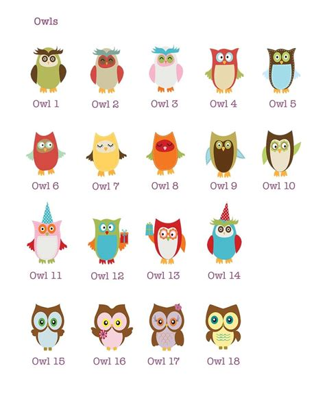 design your own custom name print owl little skylark