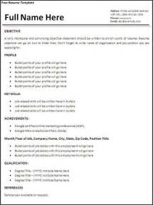 looking resume templates resume templates resume template free word