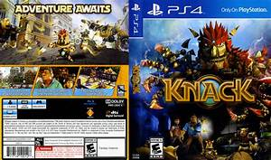 Knack dvd cover (2013) PS4 USA