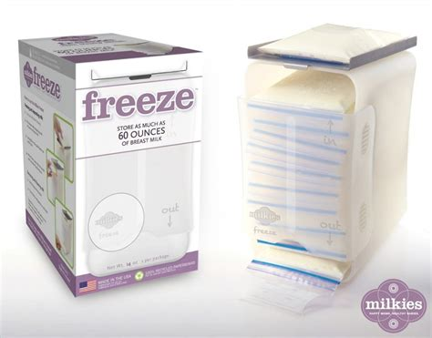 Milkies Freeze Breast Milk Storage System