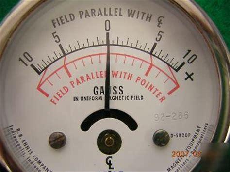 magnetometer gaussmeter magnetic flux field meter