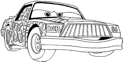 How To Draw Chick Hicks From Disney Cars Movie Step By