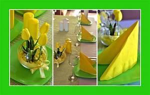 Tischdeko Geburtstag Ideen Frühling : deko in gelb deko ideen ~ Buech-reservation.com Haus und Dekorationen