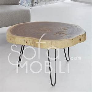 Table Basse Alinéa Bois : table de salon en bois massif sofamobili ~ Teatrodelosmanantiales.com Idées de Décoration