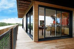Baie Coulissante Bois : installation baie vitr e et porte fenetre alu pvc ~ Premium-room.com Idées de Décoration