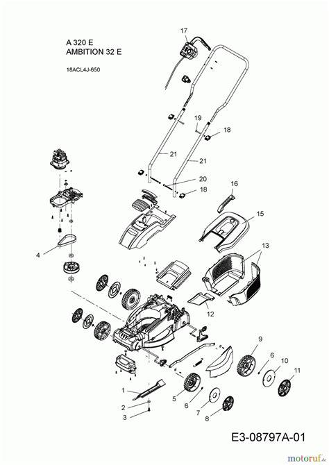 Wolfgarten Electric Mower A 320 E 18acl4j650 (2015