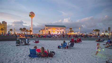 bands   beach lineup announced south santa
