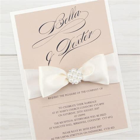 serena parcel wedding invitation pure invitation wedding invites