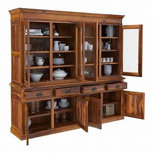 Cariboo, Contemporary, Rustic, Solid, Rosewood, Large, Dining, Hutch