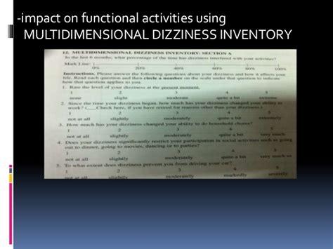 Vestibular Function Test And Its Clinical Examination
