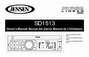 Phase Linear Sd1513 Manuals